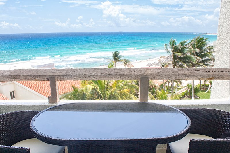 In Hotel Zone Superior Ocean Front with Balcony - 3603 at Rodero by Solymar, vacation rental in Cancun