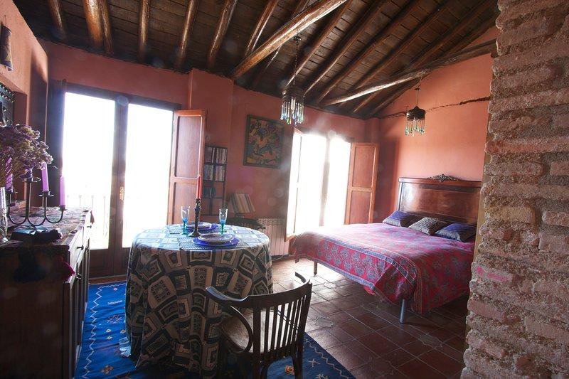 Apartamento Mirador de Soraya, alquiler vacacional en Víznar
