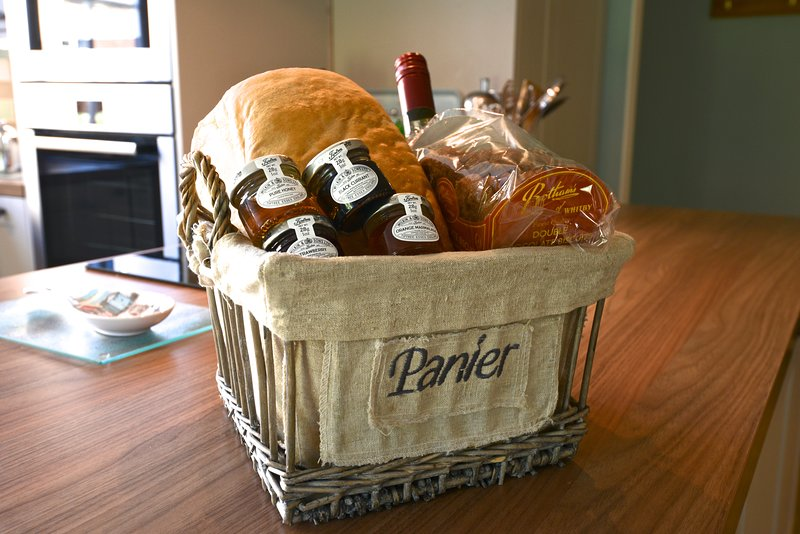 A welcome pack is provided on arrival to get your holiday started