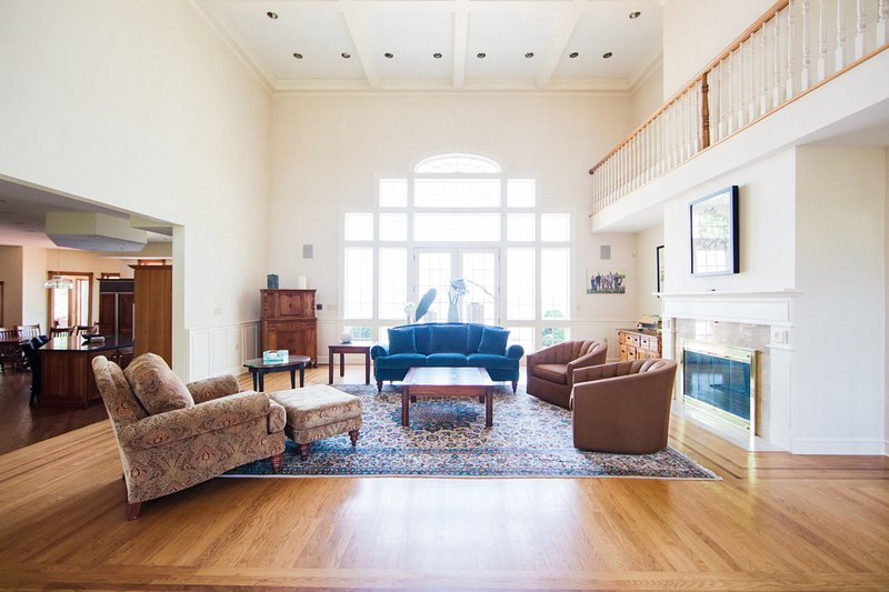 As you enter the home, you will experience elegant marble flooring leading to a grand 2-story lvrm