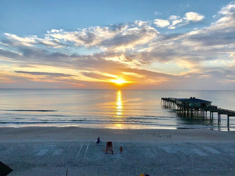 Sunrise View from Condo