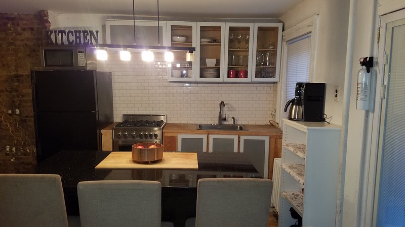 beautiful garden apartment, vacation rental in Brooklyn