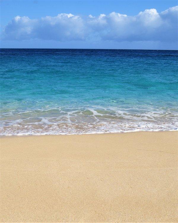 Día de playa típica del verano detrás de la casa!