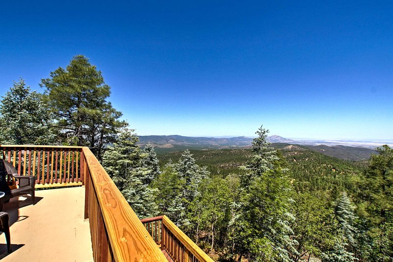 Escape the bustle of the city and retreat to this vacation rental in Prescott!