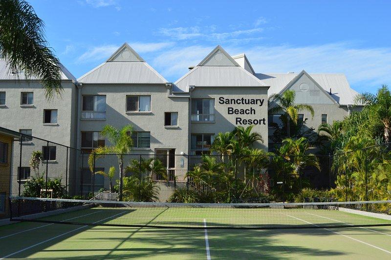 Hotel direkt am Strand mit Blick nach Norden nach Surfers Paradise und Blick nach Süden Röcke Snapper