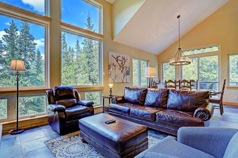 """SkyRun Propriedade - """"Gêmeo Creek Lodge"""" - refúgio de montanha lindo com vistas deslumbrantes!"""