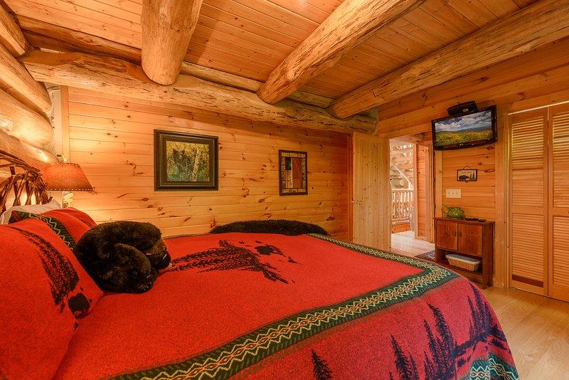 Schlafzimmer 2 auf der Hauptebene