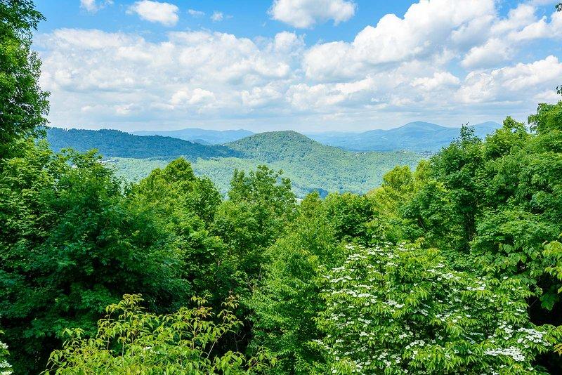 Blick von der Spice Mountain Lodge