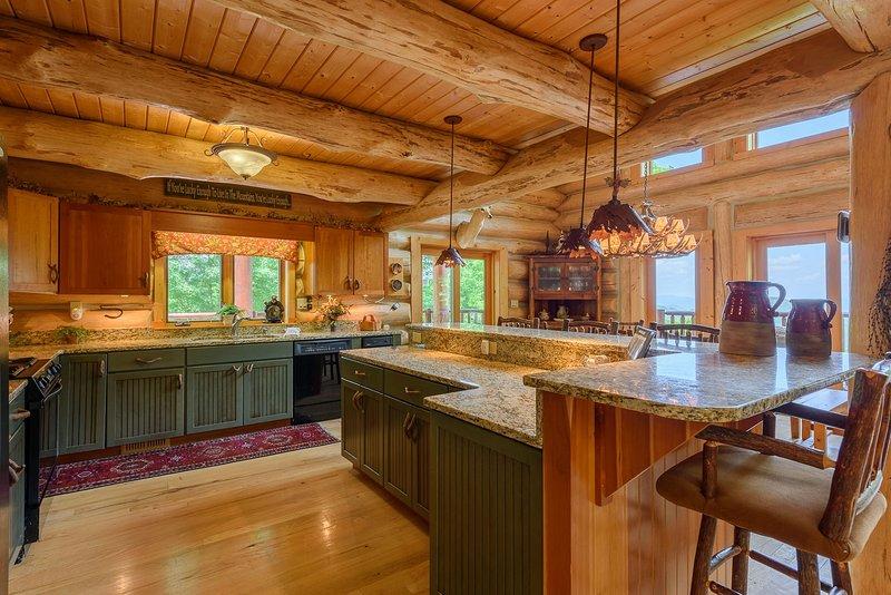 Spice Mountain Lodge Küche