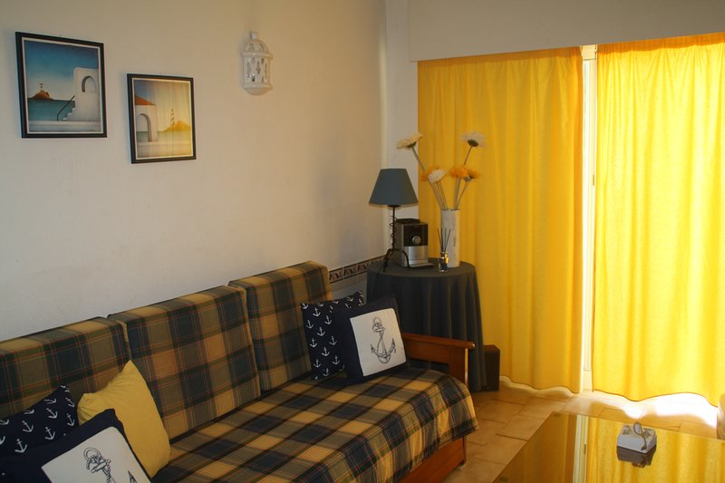 Nice apt with pool access & terrace, holiday rental in Caramujeira