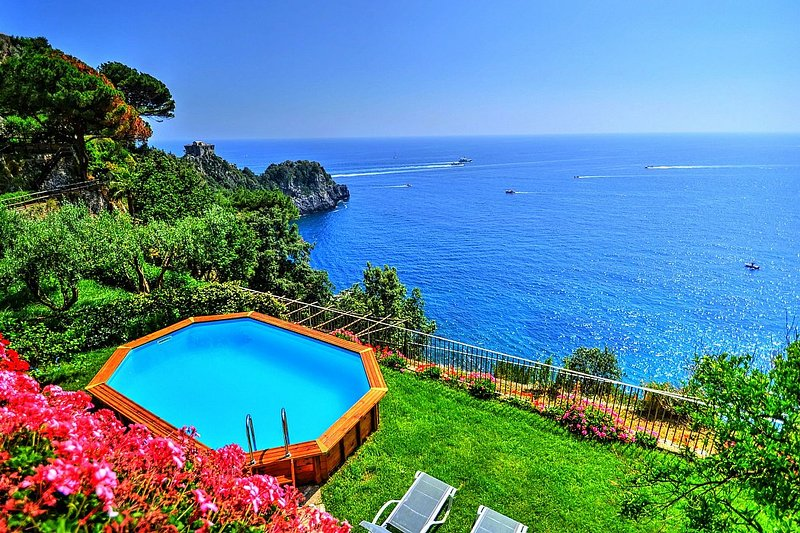 Villa Amaltea, holiday rental in Conca dei Marini