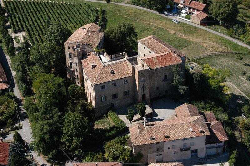 Veduta del Castello di Burio e Castelburio casa per le vacanze