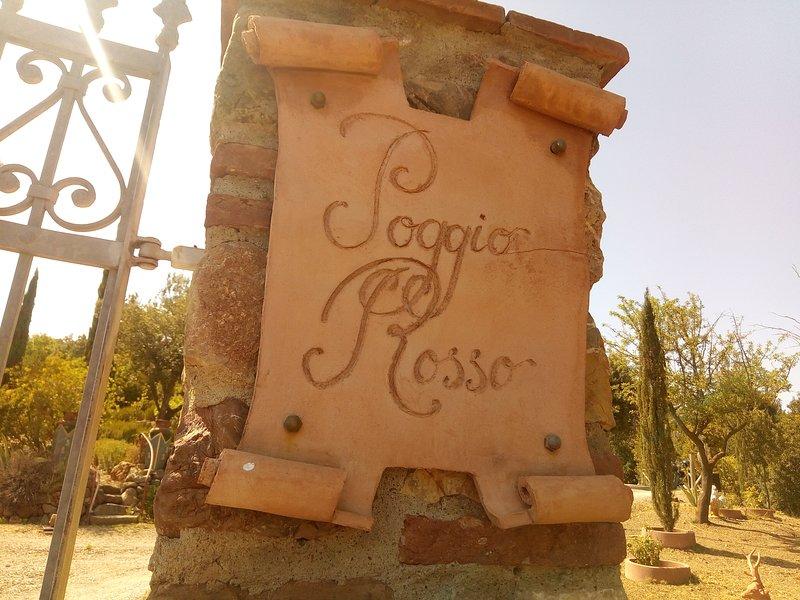 Poggio Rosso, location de vacances à Giuncarico