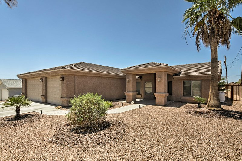 This Arizona house is perfectly positioned near the area's best attractions.