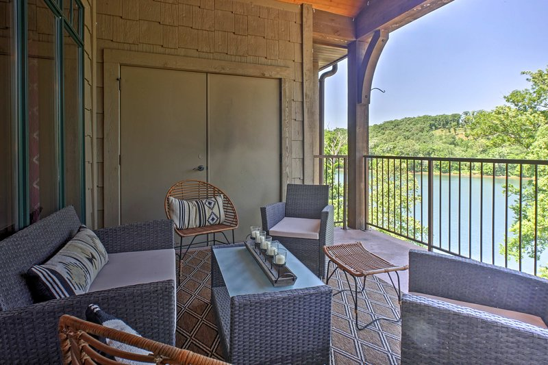 You'll be treated to pristine views each morning on the balcony.