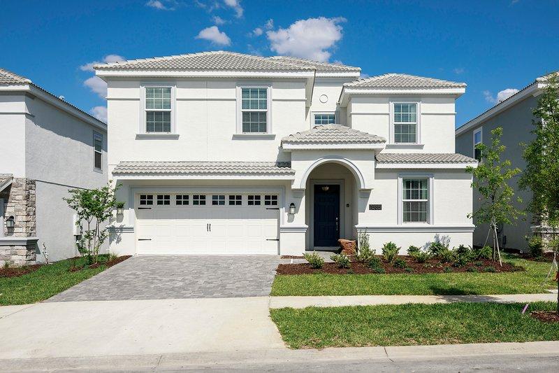 La retraite à Championsgate Resort maisons de vacances à louer à Orlando vue de la maison