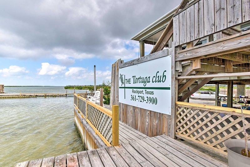 'Tortuga Club' está situado cerca de lo mejor de Rockport!