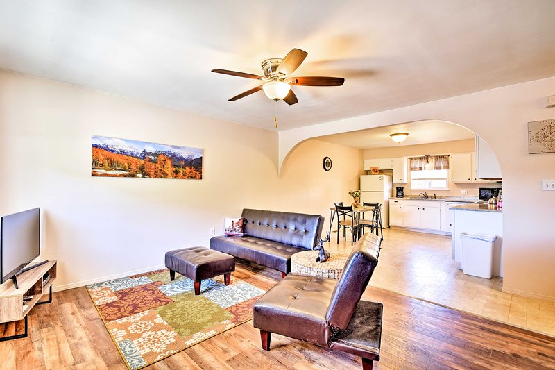 Trinidad and scenic Colorado await from this updated vacation rental apartment!