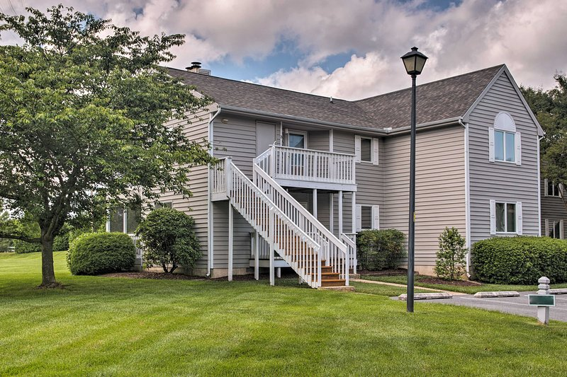 There are 2 reserved parking spots and ample guest parking at the property.