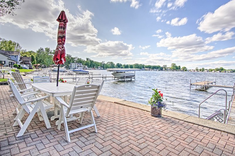 Tomber en amour avec le lac dans cette maison de location de vacances!