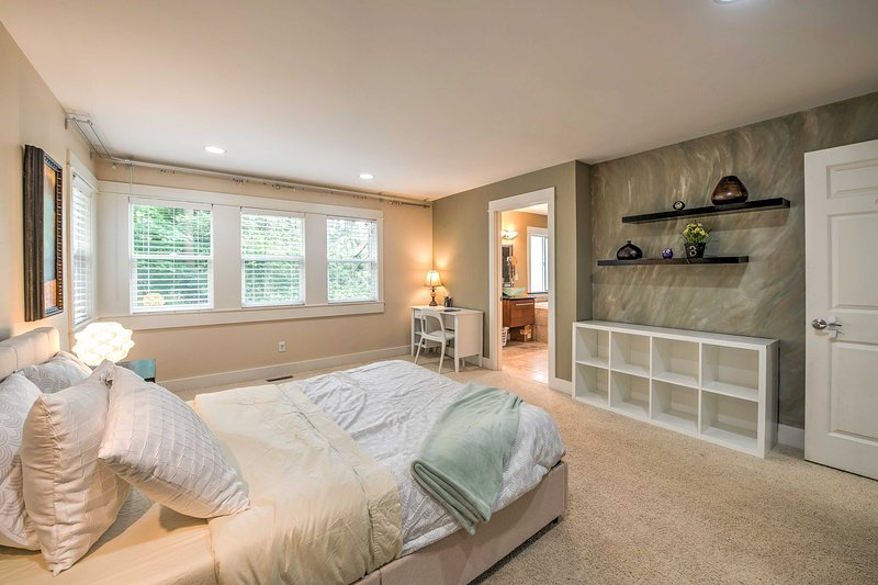 You're sure to be impressed with the master bedroom!