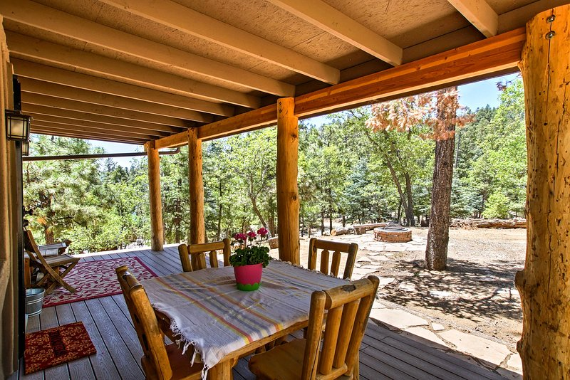 Enjoy the beautiful Arizona weather on your private outdoor oasis.