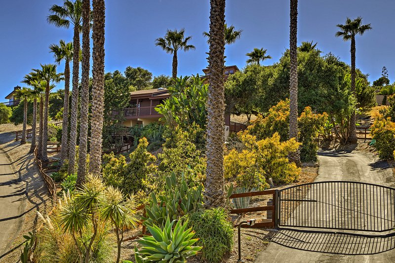 Nestled in wine country, local vineyards are within minutes of this property!