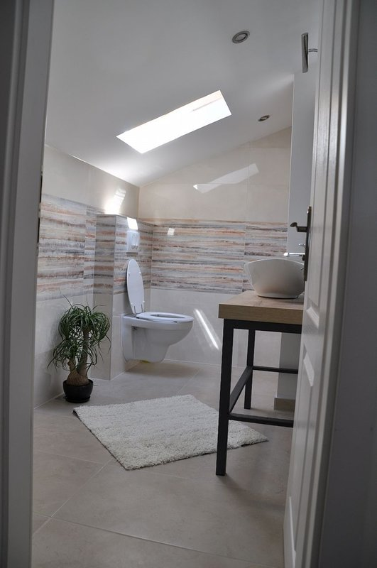 A2 potkrovlje(4+2): bathroom with toilet