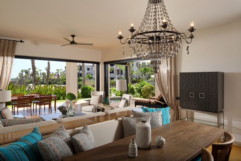 Due camere da letto Villa / vista giardino con piscina Plunge