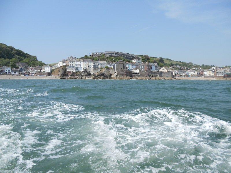 Cawsand Bay depuis le ferry