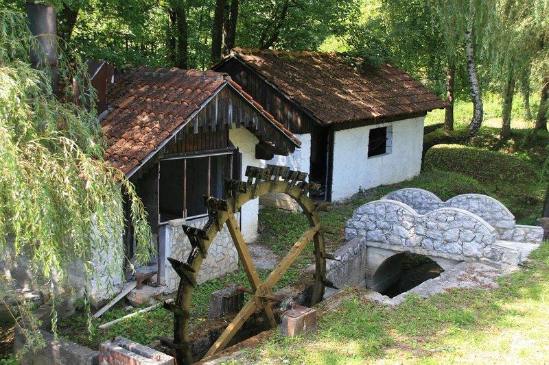 Munjava Apartment Sleeps 8 - 5488344, location de vacances à Plaski