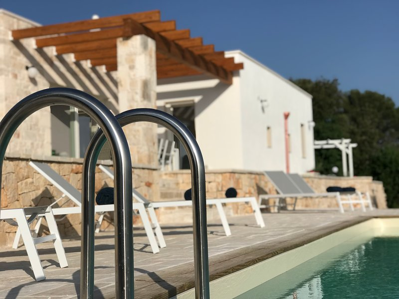 Once you have had your day exploring the stylish hilltop towns nearby its time to relax by the pool.