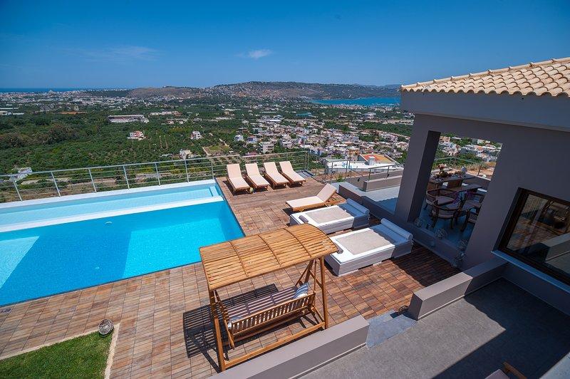 Villa Kedria, location de vacances à Malaxa