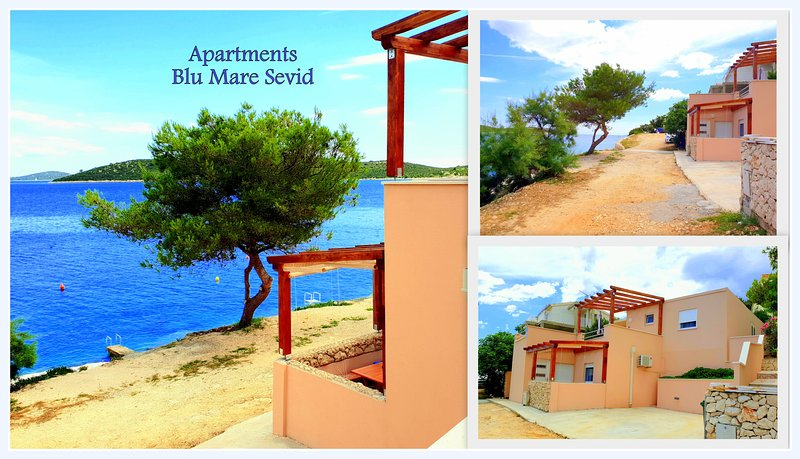 APARTMENT BLU MARE, vacation rental in Sevid