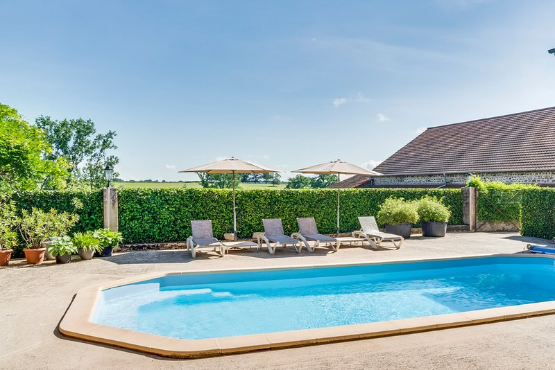 La Pacaudiere Chateau Sleeps 20 with Pool - 5049800, holiday rental in Saint Bonnet des Quarts