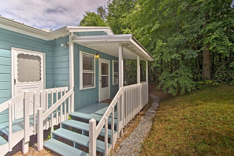 A relaxing retreat awaits you at this 1-bedroom, 1-bath vacation rental cottage.