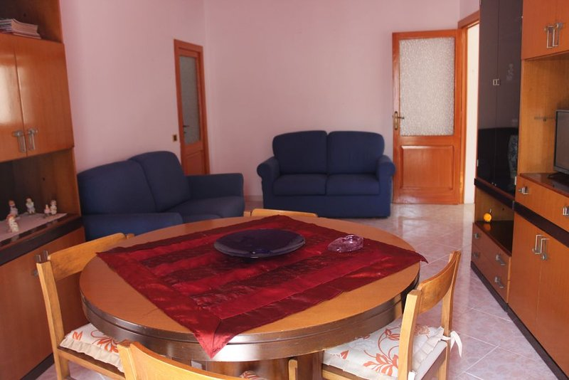 living room and two sofa beds