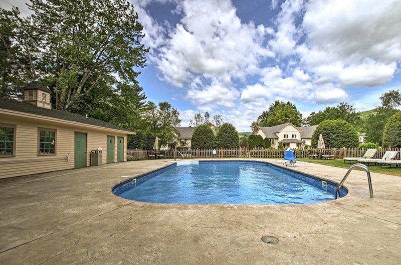 Take a dip in the clubhouse pool!