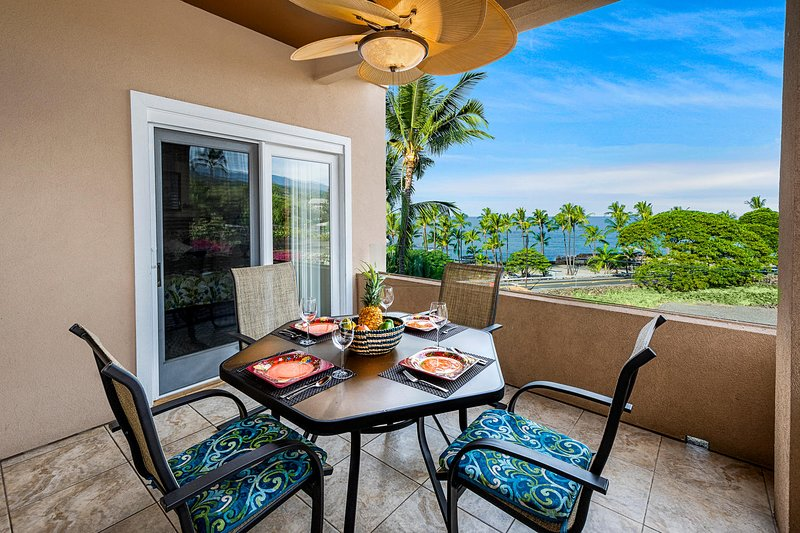 Lanai With View Of The Beach