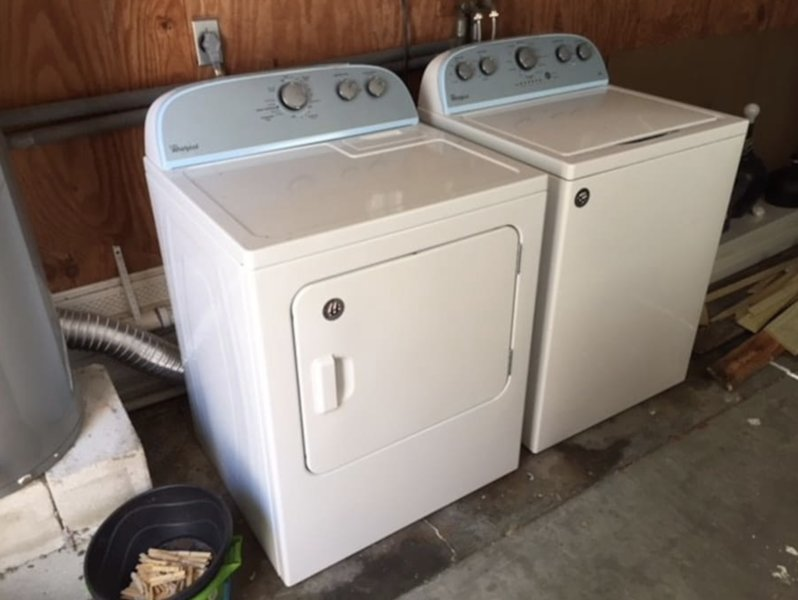 Large capacity, as new washer and dryer