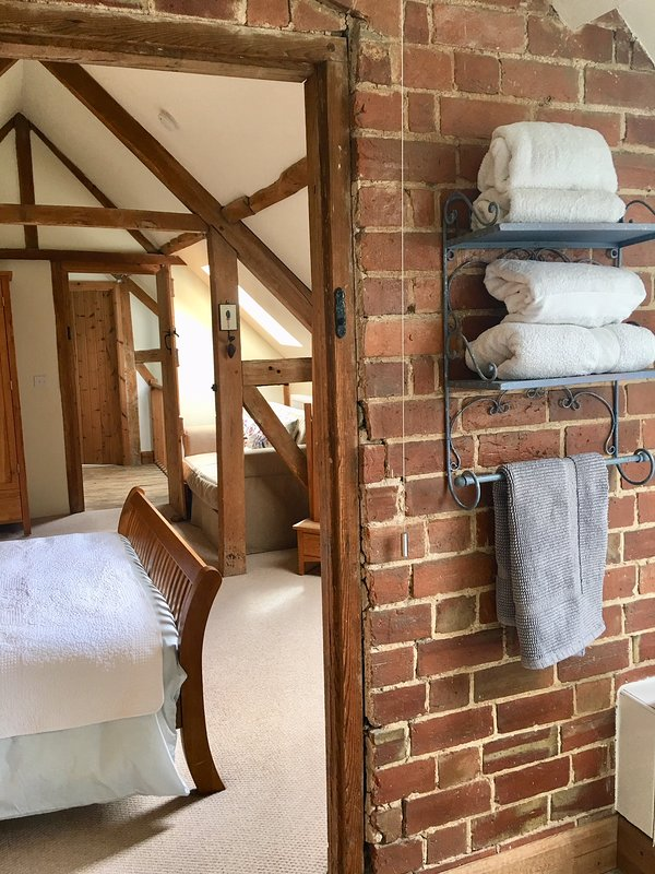 Master en suite situated at one end of the Barn adjacent to the master bedroom