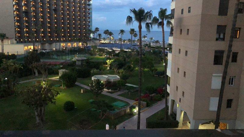 Apartamento en primera línea de playa, torres playamar Torremolinos, casa vacanza a Torremolinos