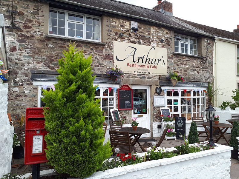 Arthur's Restaurant and Cafe on the square.