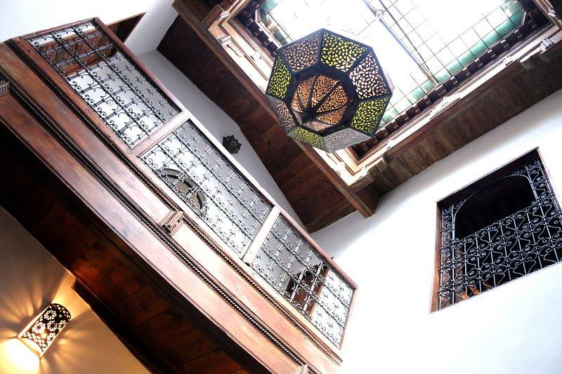 Interior of Dar Malika