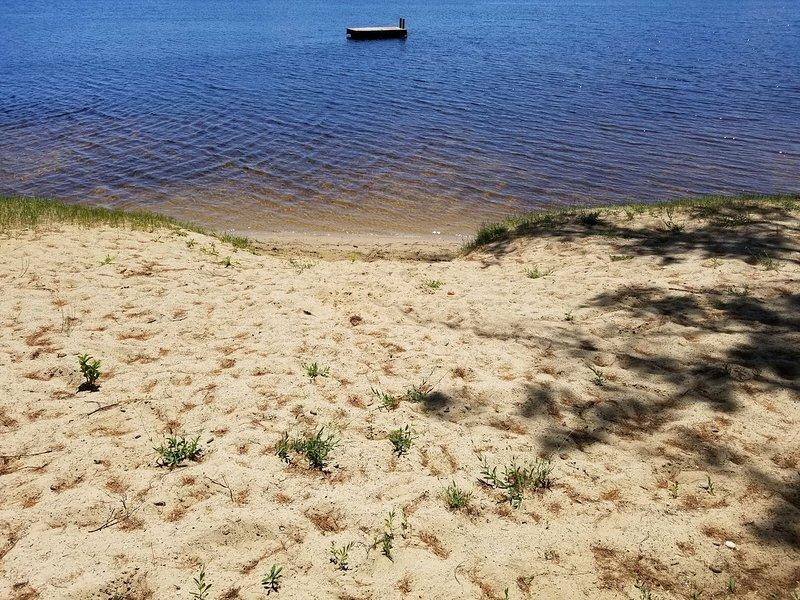 NettieBay sand area for swimming