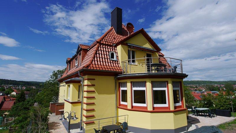 Zentral in Eisenach am Fuß der Wartburgwanderwege, holiday rental in Hoerselberg-Hainich