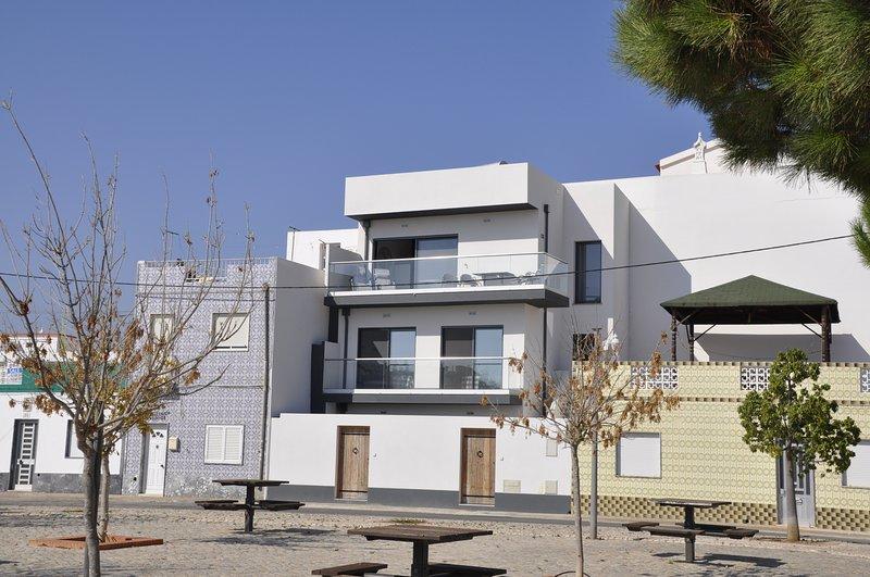 Casa Eldestijo, prachtig zicht op de Ria Formosa en de oceaan, casa vacanza a Santa Luzia