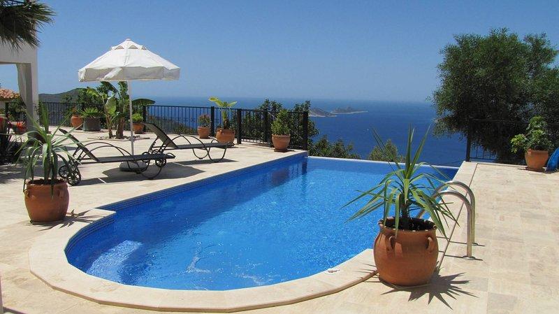 Beautiful view of Villa Sezen