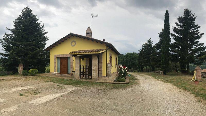 Alla casetta gialla, holiday rental in Umbertide