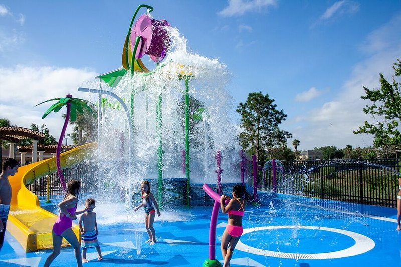 Coming Soon -New Water Slide & Fountains